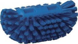 Szczotka do mycia zbiorników okrągłych, cystern, średnia, niebieska, 205 mm, VIKAN 70393
