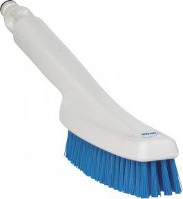 Szczotka ręczna do mycia zdoprowadzeniem wody, niebieska, 355 mm, VIKAN 70563