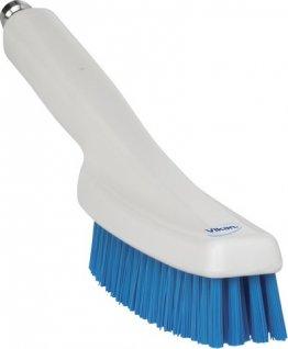 Szczotka przepływowa do mycia zszybkozlączką 1/2 cala, niebieska, 330 mm, VIKAN 7056Q3
