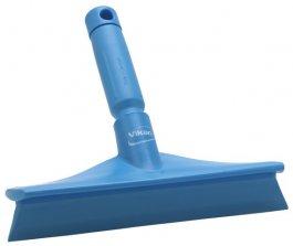 Ultrahigieniczna ściągaczka stołowa zmini uchwytem, niebieska, 245 mm, VIKAN 71253