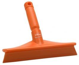 Ultrahigieniczna ściągaczka stołowa zmini uchwytem, pomarańczowa, 245 mm, VIKAN 71257