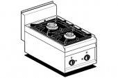 Kuchnia gazowa 2-palnikowa PC-4G (9 kW)