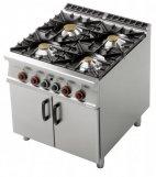 Kuchnia gazowa 4-palnikowa PC-98G (28 kW) z szafką