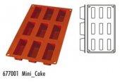 Forma silikonowa Mini Cake - 9 otworów