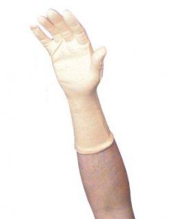 Rękawica bawełniana, gładka, długość 35cm