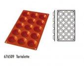 Forma silikonowa Tartoletki - 15 otworów
