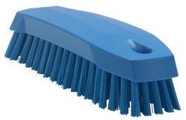 Szczotka ręczna do mycia, szorowania, średnia, niebieska, 165 mm, VIKAN 35873