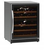 Chłodziarka do wina, witryna chłodząca do wina, 5 półek, 40 butelek, poj. 119l, 2Z 40FL