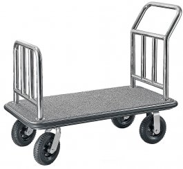 Transportowy wózek bagażowy, szer. 61cm, dł. 110cm, model 1653/090