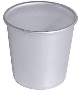 Aluminiowa forma do darioli, wymiary 5x5cm, pojemność 75ml, model 4021/050