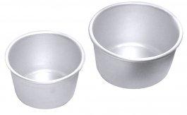 Forma aluminiowa do darioli, średnica 6cm, wysokość 3,5cm, pojemność 90ml, model 4024/060
