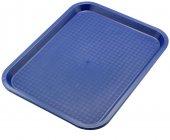 Taca z polipropylenu do serwowania, wym. 35x26,5cm, niebieska