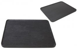 Płyta żeliwna GN 2/3 do smażenia, grillowania, pieczenia, dwustronna, model 5751/365