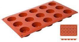 Mata Non-Stick do pieczenia 30x17,5cm, Petit-Four, forma na 15 ciastek, model 6635/415