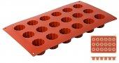 Mata Non-Stick do pieczenia 30x17,5cm na 18 wypieków, forma  Bordelaise, model 6639/318