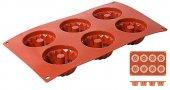 Mata Non-Stick do pieczenia 30x17,5cm Gugelhupf na 6 wypieków, forma babeczki, model 6640/076