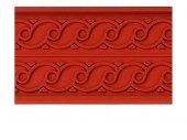 Mata do pieczenia 60x8cm, wzór fal, fali, fala, forma fale