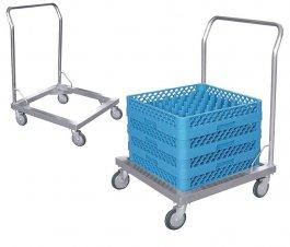 Wózek transportowy koszy do zmywarek, 60x60x88cm, model 8107/600