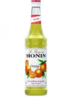 Syrop pomarańczowy MONIN ORANGE, pojemność 0,7l