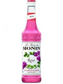 Syrop różany MONIN ROSE, pojemność 0,7l