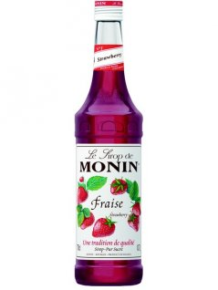 Syrop truskawkowy MONIN FRAISE STRAWBERRY, poj. 0,7l