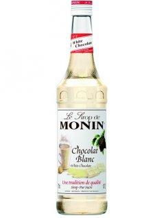 Syrop biała czekolada MONIN CHOCOLAT BLANC WHITE CHOCOLATE, poj. 0,7l