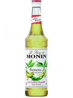 Syrop bananowy MONIN BANANE YELLOW BANANA, poj. 0,7l