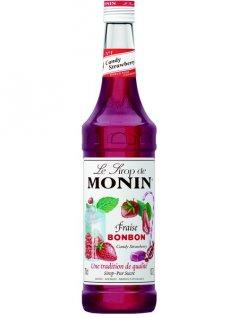 Syrop słodka truskawka MONIN FRAISE BONBON CANDY STRAWBERRY, poj. 0,7l
