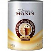 Baza kawowa do frappe MONIN COFFEE FRAPPE BASE, waga 1,36kg