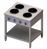 Kuchnia elektryczna 4-płytowa (10,4kW), 979500