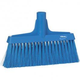 Miotła do zamiatania, wąska, miękka, niebieska, 260 mm, VIKAN 31043