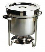 Garnek ze stali nierdzewnej do podgrzewania zupy, poj. 11 litrów, APS 11696