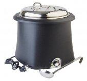 Podgrzewacz elektryczny do zupy, pojemność 10 litrów, czarny, APS 11901