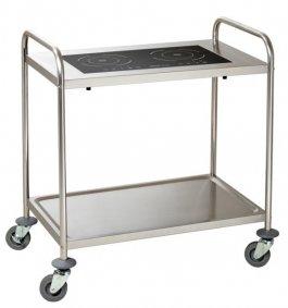 Wózek do serwowania zpłytą indukcyjną IKTS 35, BARTSCHER 105839