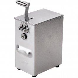 Otwieracz elektryczny do puszek ikonserw, 2-biegowy, nierdzewny, wysokość 305 mm, EDLUND 203