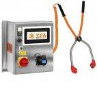 Aparat elektryczny do ogłuszania zwierząt, paralizator oszałamiający, EFA VBE 500