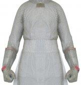 Bolero ochronne ze stali nierdzewnej, z 2 ramionami ochronnymi, wym. 50x90cm, LIGHT BOL90502 (S)