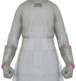 Bolero ochronne ze stali nierdzewnej, z2ramionami ochronnymi, wym. 50x90cm, LIGHT BOL90502 (S)