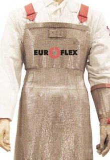 Fartuch ochronny ze stali nierdzewnej, wym. 50x75cm, TWICE EF4 7550