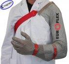 Rękawica MAGNETIC z ochroną ramienia, nierdzewna, biała, rozmiar 7, size S, HC251AS M