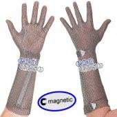 Rękawica ECOMESH MAGNETIC, mankiet 21cm, nierdzewna, brązowa, rozmiar 5, size XXS, HEM4921 FMM