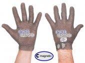 Rękawica ochronna ECOMESH MAGNETIC, nierdzewna 5-palcowa, brązowa, rozmiar 5, size XXS, HEM49 FMM