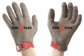 Rękawica ochronna CLASSIC, nierdzewna 5-palcowa, biała, rozmiar 7, size S, HC151