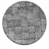 Talerz płaski MINERVA, ceramiczny, średnica 27,5cm, wysokość 3cm, czarny, XANTIA 31021