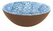Miska ceramiczna MINERVA, średnica 18cm, wysokość 6cm, pojemność 0,5l, niebieska, XANTIA 31026