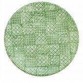Talerz płaski MINERVA, ceramiczny, średnica 27,5cm, wysokość 3cm, zielony, XANTIA 31029