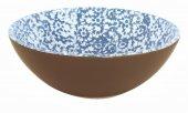 Miska ceramiczna VESTA, średnica 18cm, wysokość 6cm, pojemność 0,5l, niebieska, XANTIA 31045