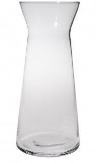 Karafka na wino CASCADE, szklana, średnica 9cm, wysokość 21,2cm, poj. 0,75l, EXXENT 52943