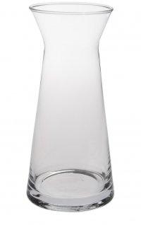 Karafka na wino CASCADE, szklana, średnica 7cm, wysokość 15cm, poj. 0,25l, EXXENT 52945