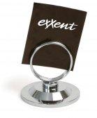 Stojak nierdzewny na kartę menu, średnica 5,5cm, wysokość 5,5cm, EXXENT 65245
